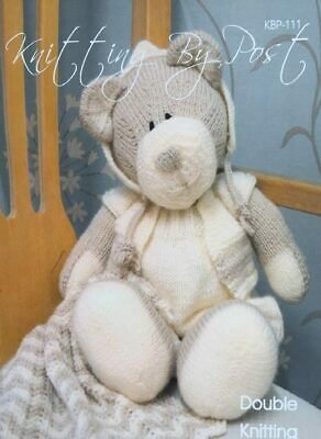Knitting By Post All Bear One Soft Toy Knitting Pattern