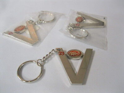 Dr Pepper Three Key Chains With 23 Flavor And Current Logo
