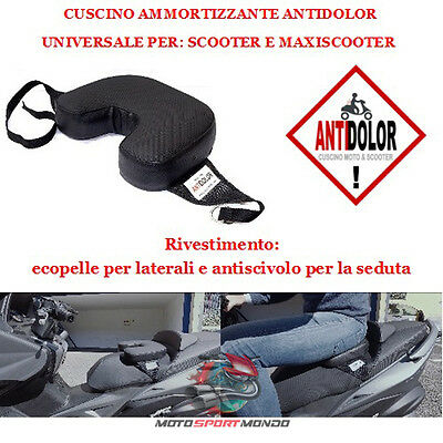 Gts 300 Super 2008 - 2014 Cuscino Per Sella Scooter Maxiscooter Ammortizzante An
