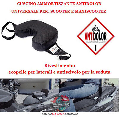Coprisella Ammortizzante Per Sella Antidolor Medium Rivestimento Ecopelle E Anti