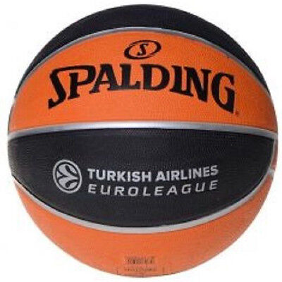 Spalding NBA Turkish Airlines Euro League Indoor Outdoor Basketball Ball NEW