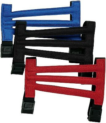 Aurora Archery Adult Short Vented Arm Guard Armguard Reinforced Black Red Blue