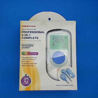 CVS Professional 3-In-1 Complete Digital Thermometer