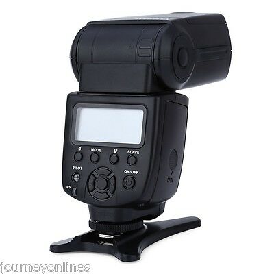 VILTROX JY - 680A LCD Flash Speedlite Light for Any Digital Camera Black