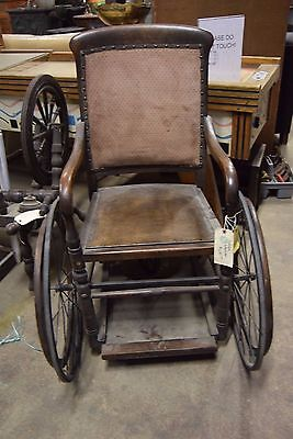 Antique Wheelchair Early 1900's