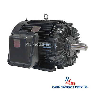 25 hp electric motor 284t explosion proof 3 phase 1800 rpm hazardous location