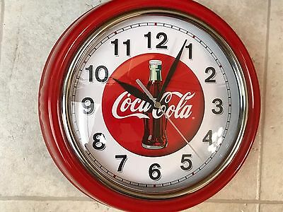 COCA COLA WALL CLOCK - Battery Operated, Excellent condition!