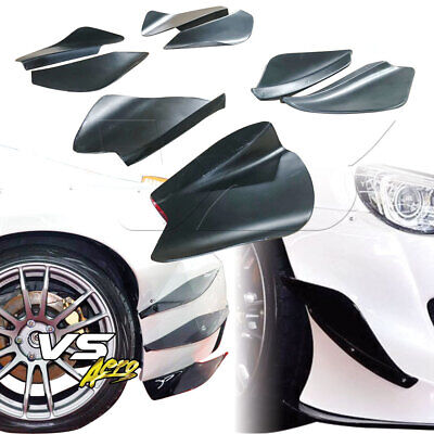 VSaero FRP TKYO Bunny v2 Wide Body Front Canards 6pc For Subaru BRZ ZN6 13