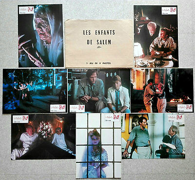 1987 A RETURN TO SALEM'S LOT Stephen King HORROR 8 French Lobby Cards