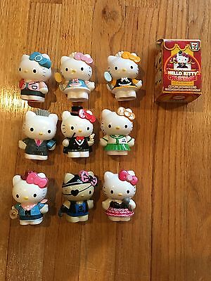 Hello Kitty Figurine Lot - 9 figurines
