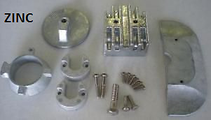 Mercruiser Alpha I Gen II Zinc Anode Kit Military Grade Zinc NEW Alpha 1 Gen 2