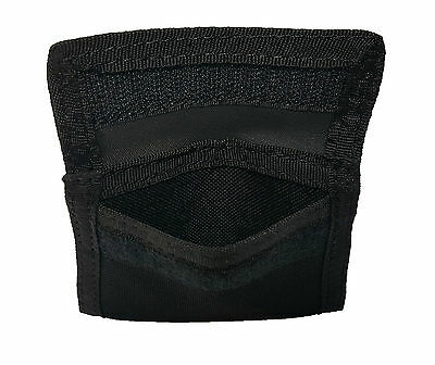 Firefighter EMT EMS Police Latex Quick Nylon Glove Pouch Paramedic Black