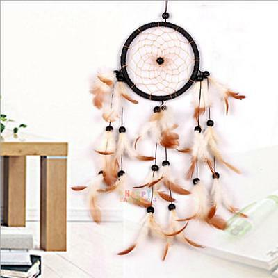 Handmade Traditional Dream Catcher with Feathers Wall Car Hanging Ornament GIFT