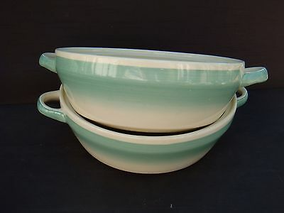 Two Art Deco Susie Cooper Tureen Bases Only Dresden Spray