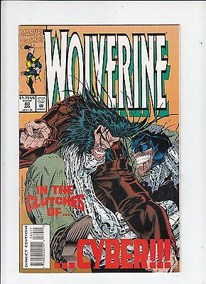 Wolverine #80 1st appearance of X-23 test tube VF/NM with RVM insert