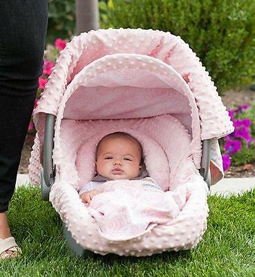 Angelina Carseat Canopy 5 Piece Whole Caboodle Car Seat Cover Kit