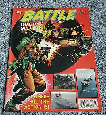 BATTLE Holiday Special - 1992 - British UK War Comic