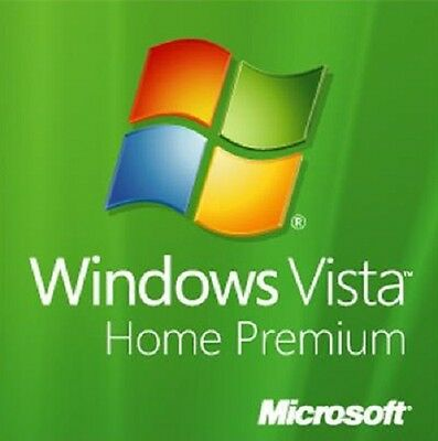 Windows Vista Home Premium 32-Bit Install | Boot Recovery Restore DVD Disc Disk