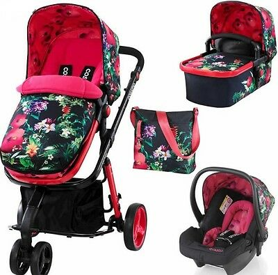 New Cosatto giggle 2 3 in 1 travel system in Tropico with free hold car seat