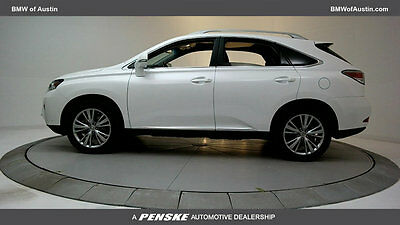 2014 Lexus RX Base Sport Utility 4-Door 4 dr SUV Automatic Gasoline 3.5L V6 Cyl Ultra White