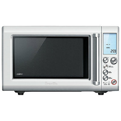 Breville Quick Touch Crisp 0.9 Cu. Ft. Microwave (BMO700BSS) - Silver