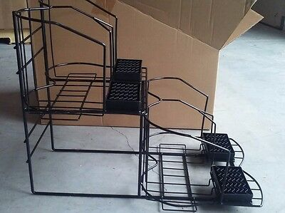4 Pot Coffee Airpot Rack Holder Rack Countertop Side By Side Drip Trays