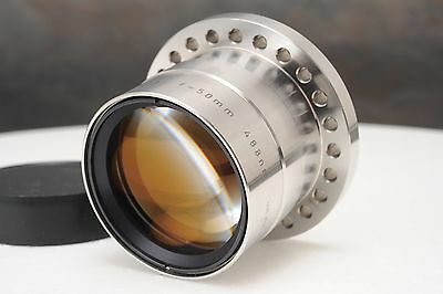 :Rodenstock F-Theta 50mm 488nm Chrome Barrel Scanning Lens EXC Condition