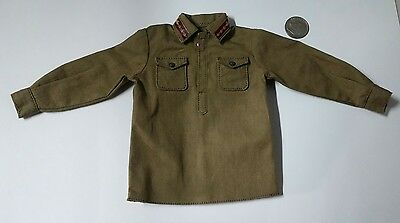 Alert Line WWII Red Army Tank Corps tunic 1/6 toys soviet Russian DID dragon
