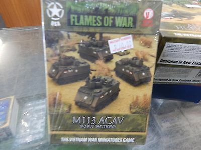 15mm Flames Of War Vietnam M113 ACAV