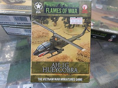 15mm Flames Of War Vietnam AH-IG HUEY COBRA
