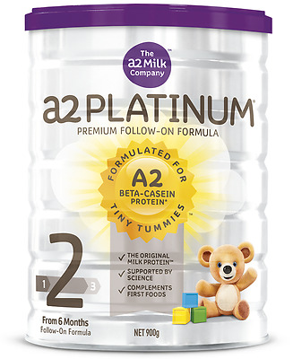 A2 Platinum  Stage 2 From 6 months Follow on Formula