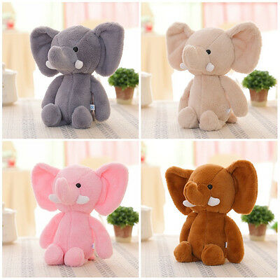 USA Cute Elephant Soft Plush Toy Mini Stuffed Animal Baby Kids Gift Animals Doll