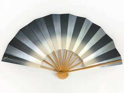 Vintage Japanese Geisha Odori 'Maiogi' Folding Dance Fan from Kyoto: MayIIB