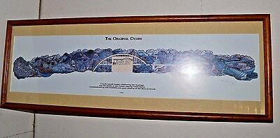 Nice The Original OZARK on the River Limited Lithograph Signed Print Framed Rare