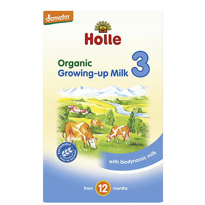 Holle Organic Growing -up Milk Stage 3 - 600 grams From 12 months