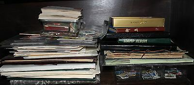 AUSTRALIA & WORLD STAMPS IN ALBUMS & 1000's OF LOOSE STAMPS