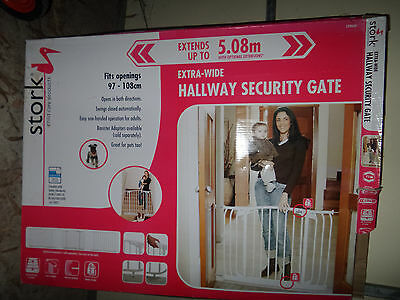 Extra wide safety gate(Brand:Stork)