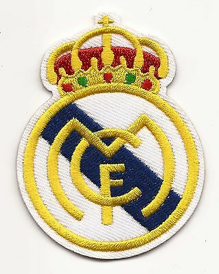 Real Madrid Football Embroidered Patch Iron-on Good Luck Magic Charm