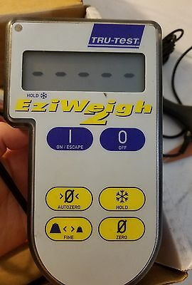 Tru Test Ezi weigh 2 Scale Bluetooth Used Farm Cow Equipment With Charger