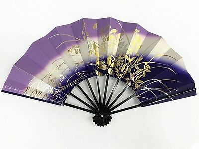 Vintage Japanese Geisha Odori 'Maiogi' Folding Dance Fan from Kyoto: MayIIQ