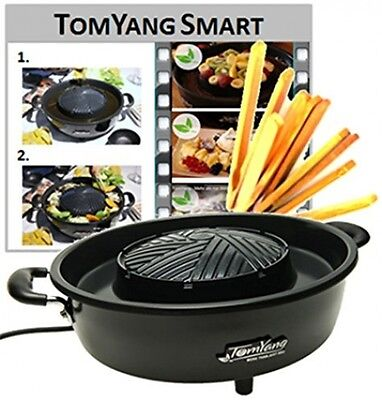 TomYang BBQ - The electric Thai BBQ grill and hot pot. Tabletop grill and with