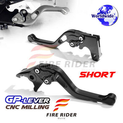 For Yamaha TMAX500 01-07 03 04 05 SBB CNC GP Short Front Rear Brake Levers Set