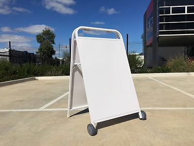 Double Side A-Frame Board Signs,Round Corner White