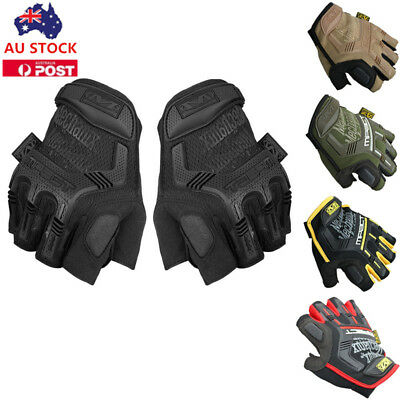 Men Tactical Gloves Military Army Airsoft Shooting Hunting Half Finger Gloves