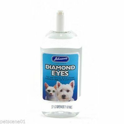 Johnson's Diamond Eyes Tear Stain Remover for Dogs Cats - Dog Tear Stain Remover