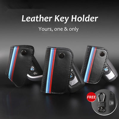 Real Leather Car Key Holder Wallet Key Bag Key Cases for BMW 1 3 5 7 X1 X5 X7