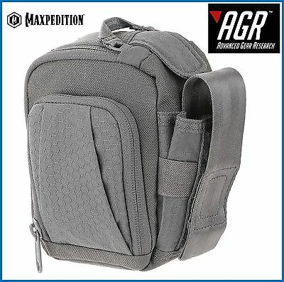 Maxpedition Advanced Gear Research SOP  Side Opening Pouch Gray SOPGRY