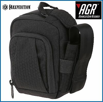 Maxpedition Advanced Gear Research SOP  Side Opening Pouch Black SOPBLK