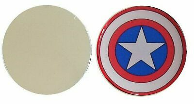 America Shield Metal Golf Ball Marker Disc 25Mm Diameter