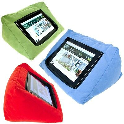 Portable Tablet Book Rest Cushion Pillow for iPad Stand Tablets Kindle 4 Colors